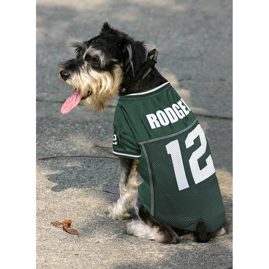 NFLPA Aaron Rodgers Green Bay Packers Pet Jersey
