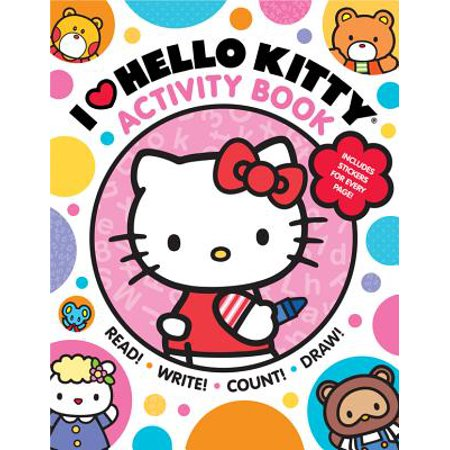 I Heart Hello Kitty Activity Book : Read, Write, Count, and Draw with Hello Kitty and Friends! - Halloween Hello Kitty Color Pages