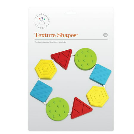 Toys & Co (Texture Shapes Teether - Infant Toy by Manhattan Toy Co.)