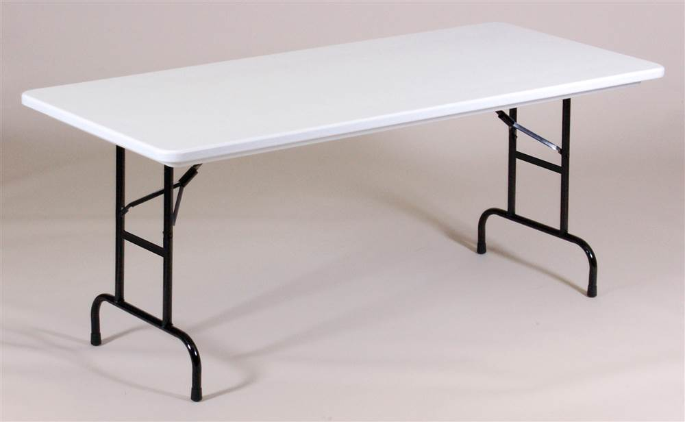 Beautiful Rectangle Counter Height Folding Table   Walmart.com