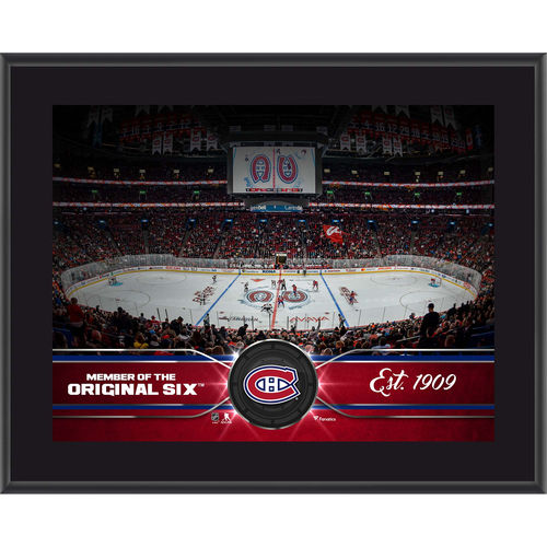 "Montreal Canadiens 10.5"" x 13"" Sublimated Team Plaque - No Size"