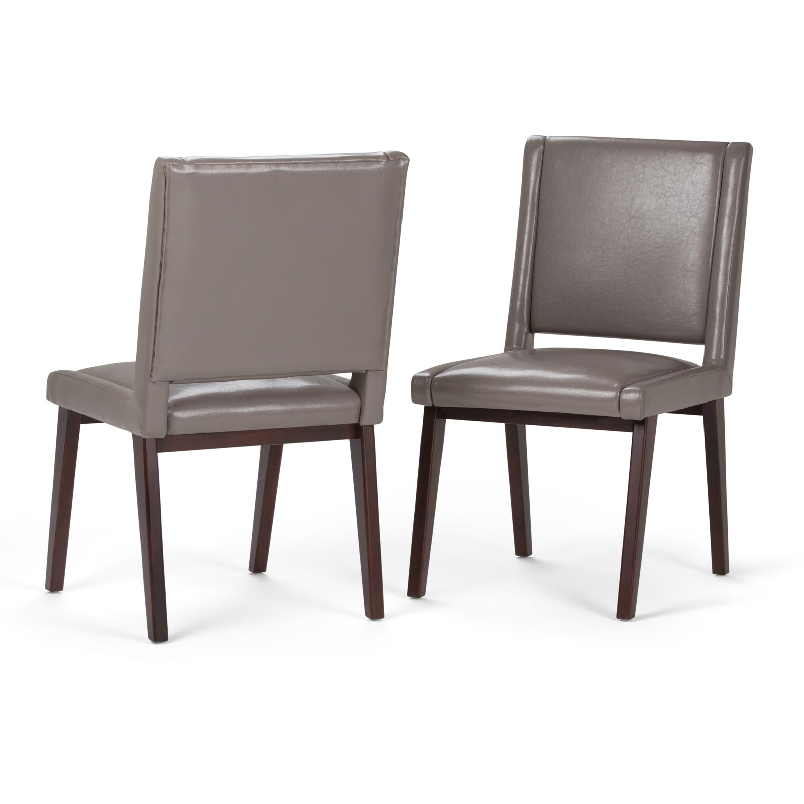 Simpli Home Draper Mid Century Deluxe Dining Chair (Set of 2)