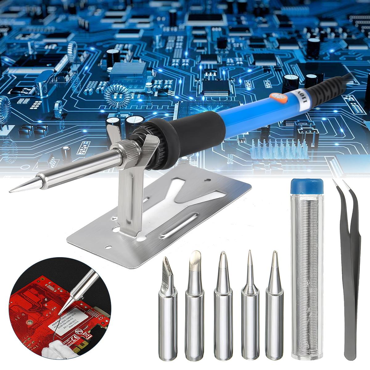 Adjustable Electric Temperature Gun Welding Soldering Iron Tool Kit Set 60W BP