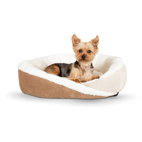 Small 24-Inch by 36-Inch Tan K/&H Manufacturing Travel//SUV Pet Bed