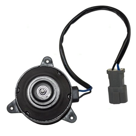 BROCK Nippondenso Type Radiator Coolong Fan Motor Replacement for Acura CL Honda Accord Odyssey Prelude Isuzu Oasis Van 19030PT0003