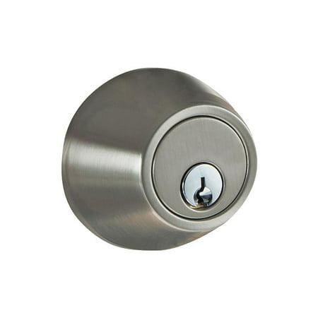 milocks digital deadbolt door lock satin nickel finish with keyless