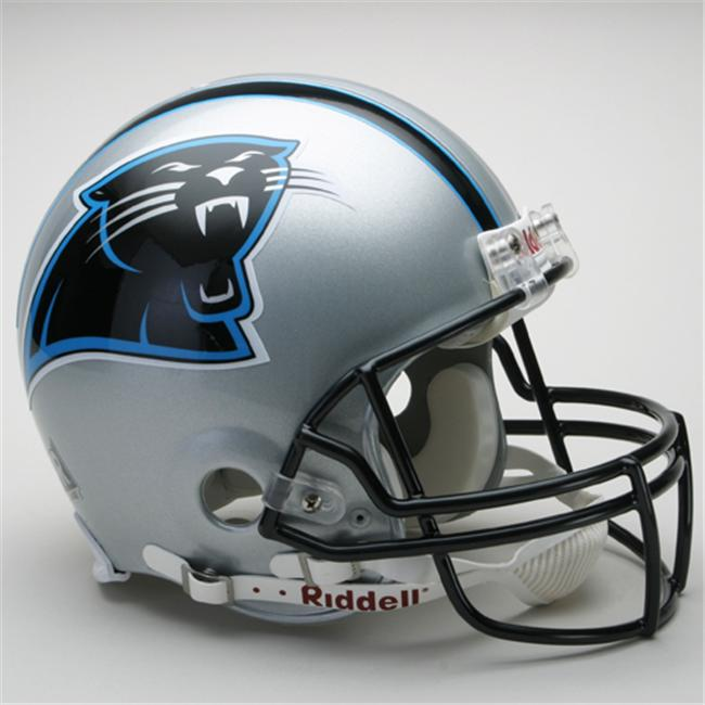 Creative Sports RD-PANTHERS-A Carolina Panthers Riddell Full Size Authentic Proline Football Helmet
