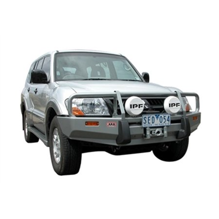 ARB 4x4 Accessories 3434060 Front Deluxe Bull Bar Winch Mount Bumper; ()