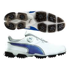 bbaae0dbb7b045 Puma 2017 Titantour Ignite Disc Golf Shoes (White Blue) - Walmart.com