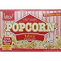 Kitov Microwave Popcorn Natural No Cholesterol 21 Oz. Pack Of 6.