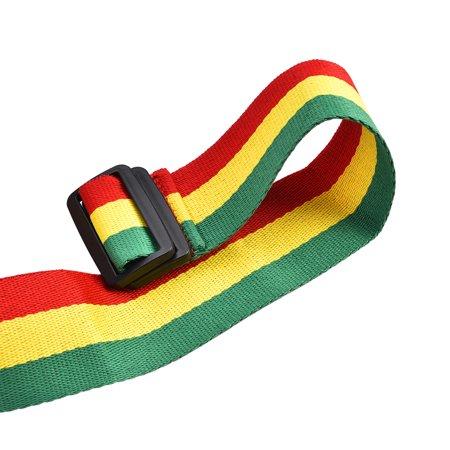 Ejoyous Tricolor Portable African Hand Drum Belt Djembe Shoulder Strap for Stage Performance , Hand Drum Strap, African Djembe Strap