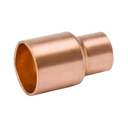 B&K W 61067 1-1/2 x 3/4-Inch Copper Reducer Coupling With Stop - Quantity