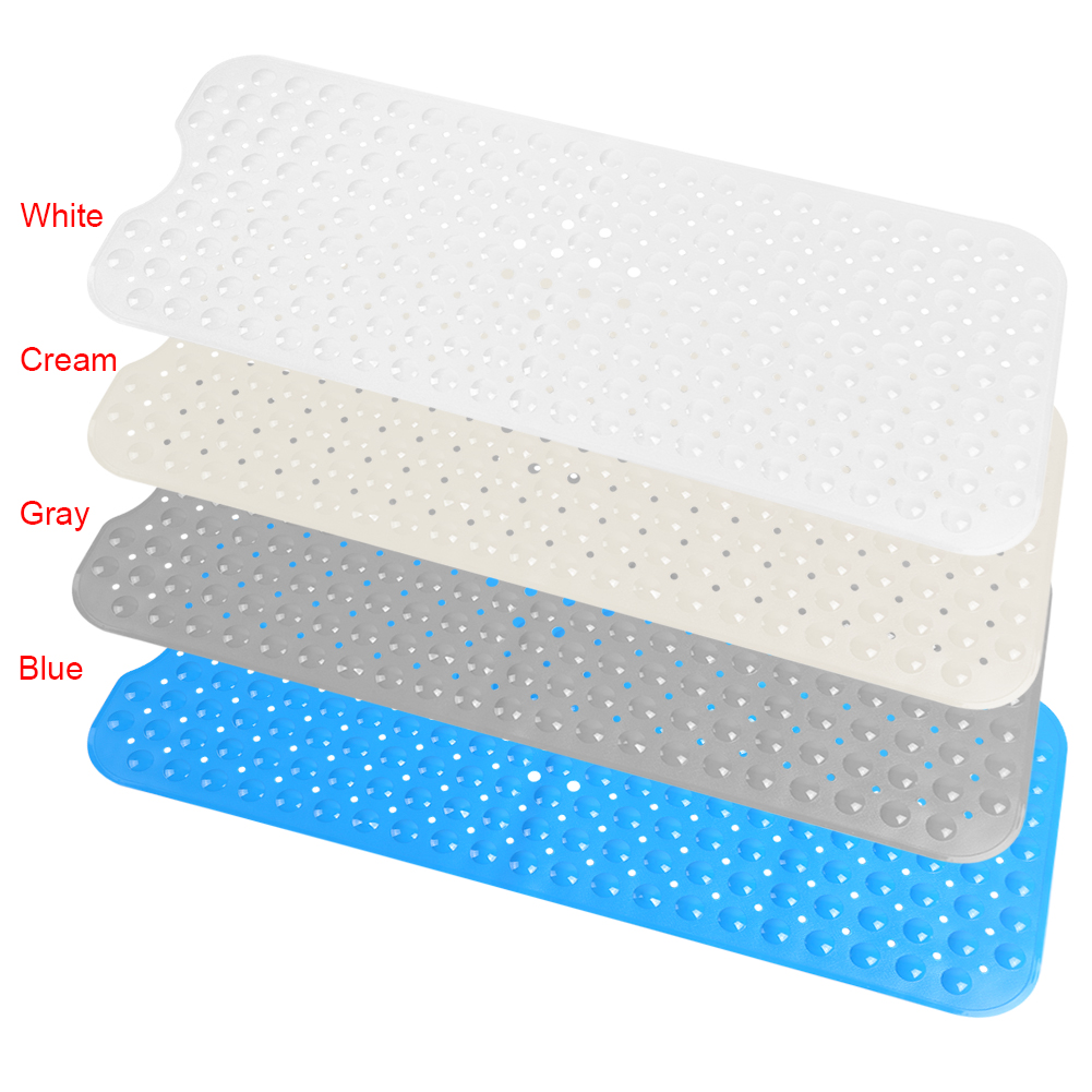 EECOO Bath Mat Non Slip Anti Skid Rubber Shower Tub Safe ...