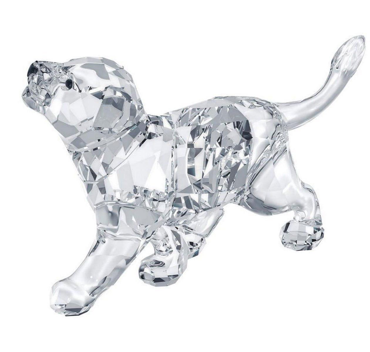 Swarovski Clear Crystal Figurine Animal LION CUB #1194148...