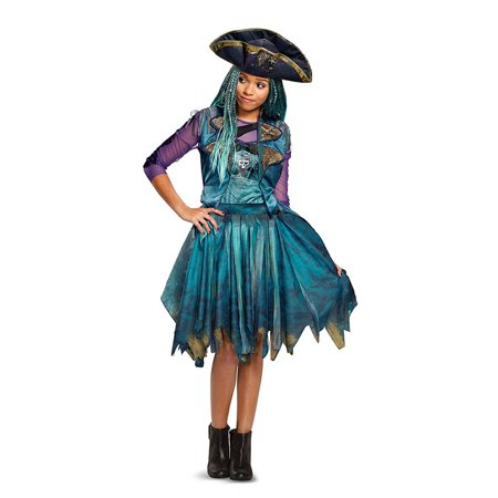 Uma Isle of the Lost Classic Girls Child Halloween Costume for $<!---->