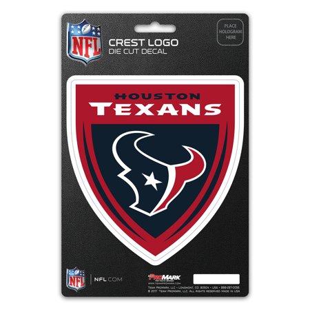 Houston Texans Crest Logo Shield Decal - No Size
