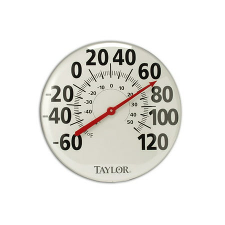 Taylor Extra Large 18'' Metal - Metal Patio Thermometer