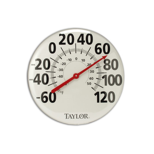 Taylor Extra Large 18'' Metal Thermometer