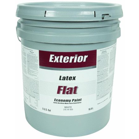 Economy Latex Flat Exterior House Paint