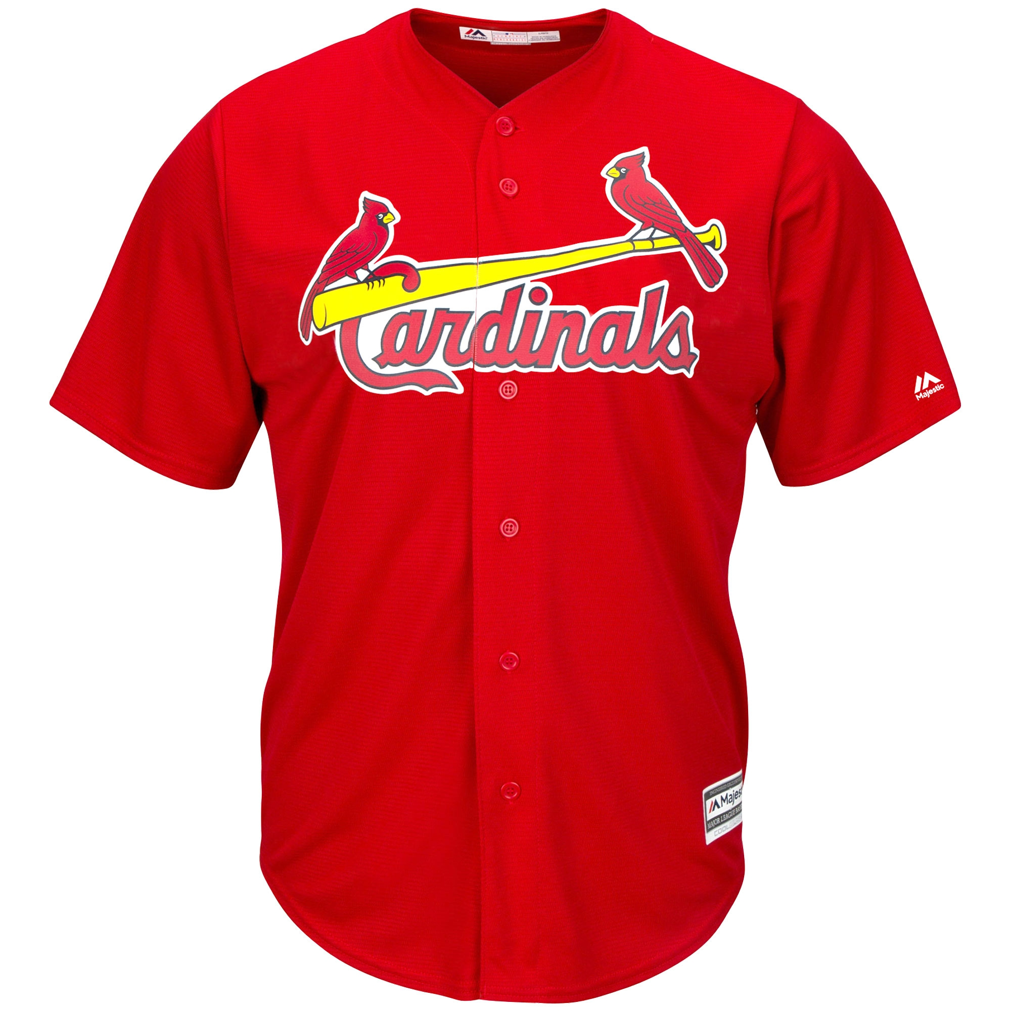 reputable site 8f58f b9732 Yadier Molina St. Louis Cardinals Youth Official Cool Base Player Jersey -  Red