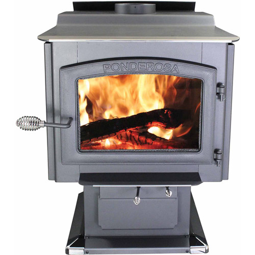 Ponderosa 2,000 Sw. Ft. EPA Certified Wood Stove with Blower by Wood Stoves