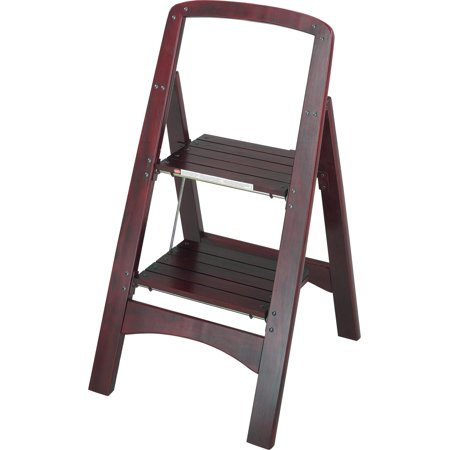 Prime Cosco Rockford Series Two Step Stool Mahogany Pdpeps Interior Chair Design Pdpepsorg
