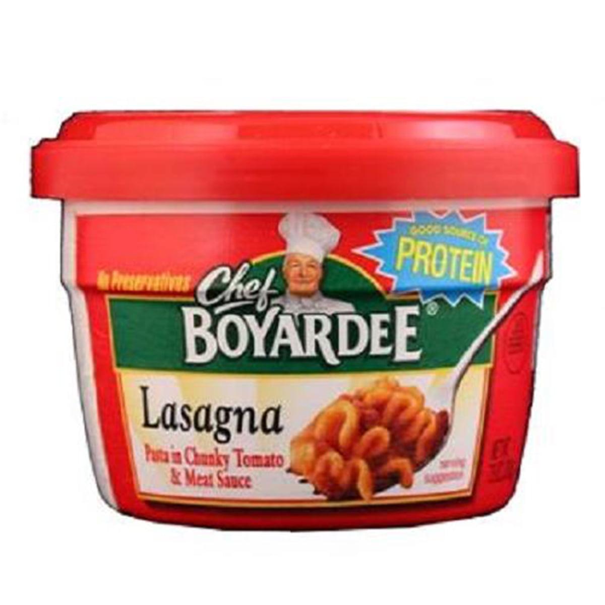 Chef Boyardee Bowl Lasagna 7.5 Oz 1 count only by Conagra Foods Sales