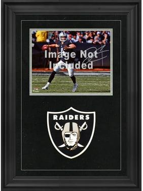 Las Vegas Raiders 8'' x 10'' Deluxe Horizontal Photograph Frame with Team Logo