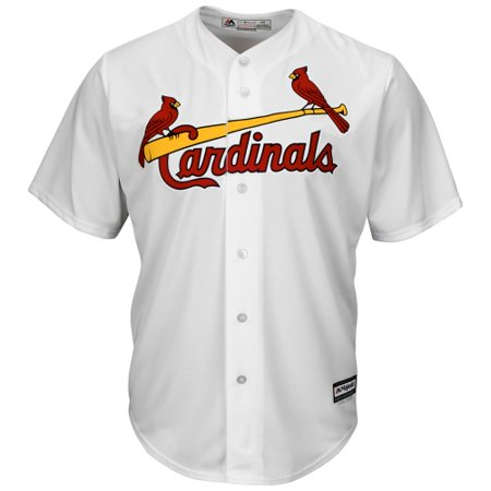 St. Louis Cardinals Majestic Official Cool Base Jersey - White