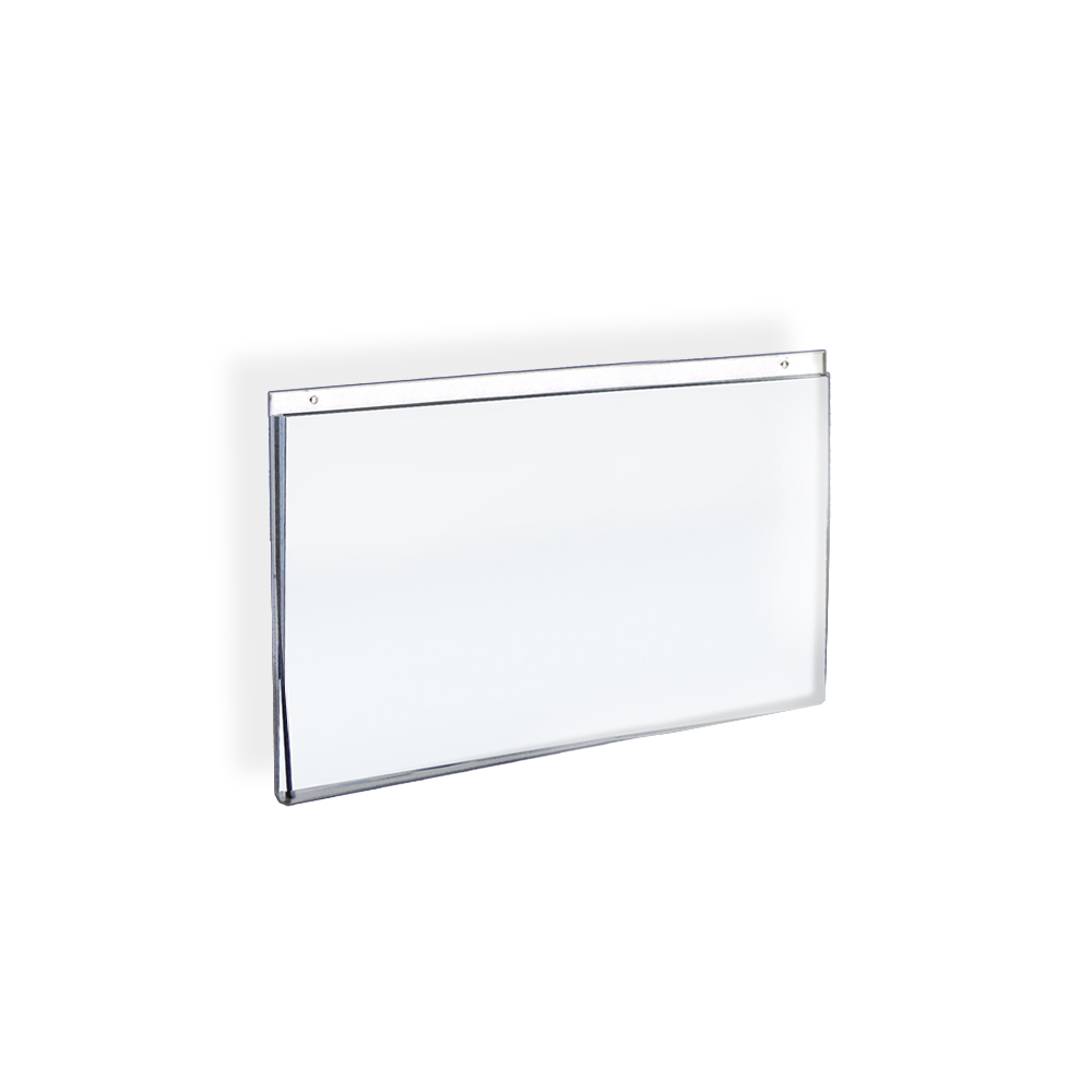 "Azar 162715 11""W x 8.5""H Wall U-Frame Acrylic Sign Holder, 10 Pack by Supplier Generic"