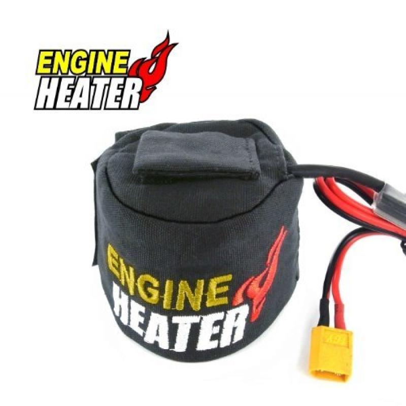 SkyRC Nitro Engine Heater w/LiPo Low votage Cutoff Protection, 12VDC Powered