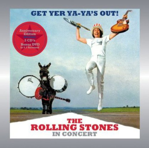 Get Yer Ya-Ya's Out: Rolling Stones in Concert (CD) (Includes DVD)