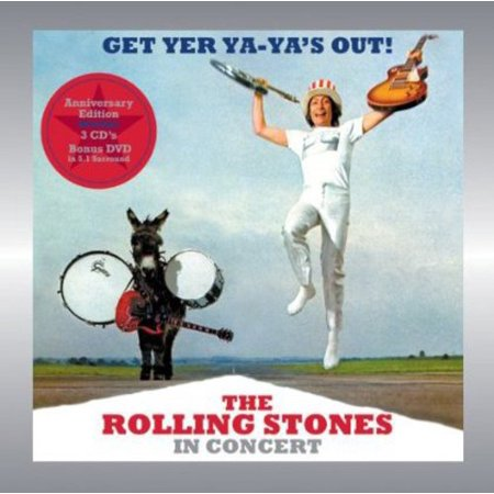 - Get Yer Ya-Ya's Out: Rolling Stones in Concert (CD) (Includes DVD)