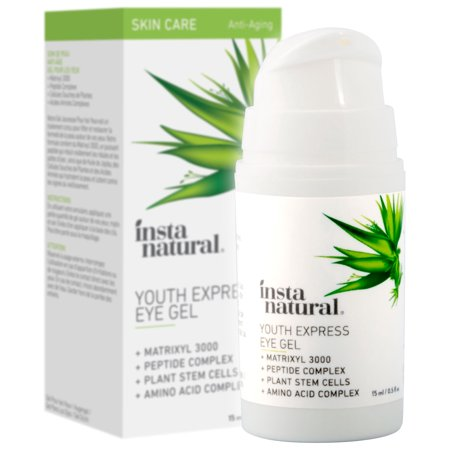 InstaNatural Eye Gel Cream, For Dark Circles, Wrinkles & Puffy Eyes, 0.5 (Products To Get Rid Of Puffy Eyes)