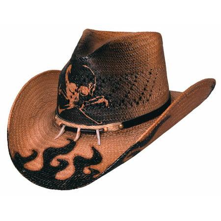 Cowboy Hats Hat - Bullhide Hats 2533 Run A Muck Collection Dangerous Medium Pecan Cowboy Hat