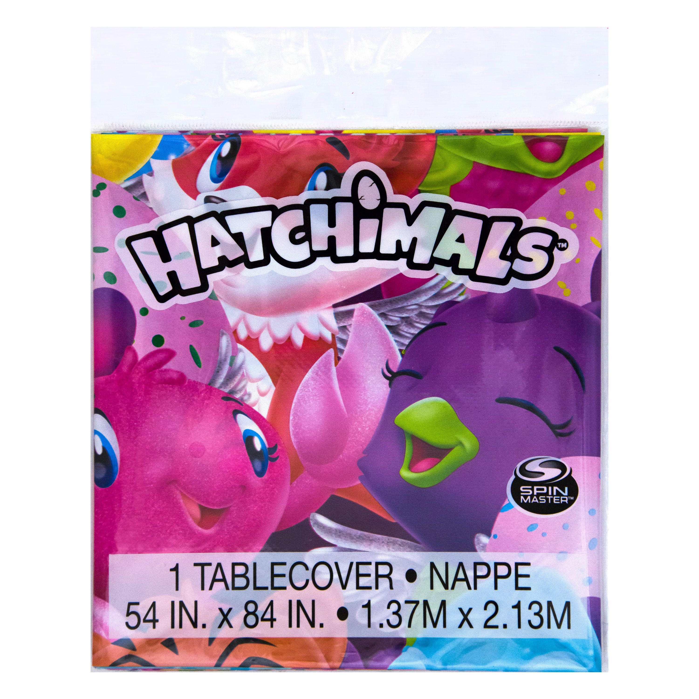 Hatchimals Plastic Tablecloth, 84 x 54 in, 1ct