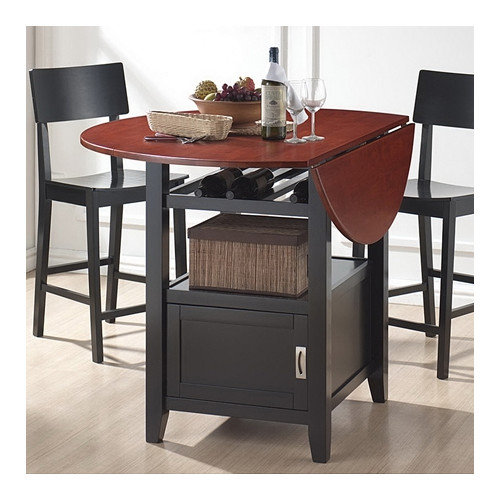 Wholesale Interiors Baxton Studio Dayton Counter Stool with Veneer Back and Seat