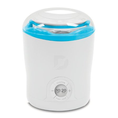 Dash Dgy001wbu C Greek Yogurt Maker  White With Blue Trim