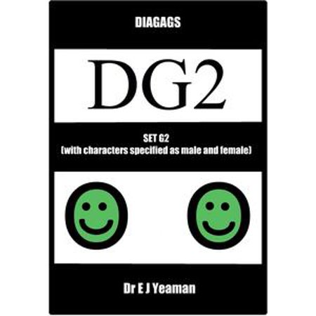 Diagags Set G2 (with Characters Specified as Male and Female) - - Female Horror Characters