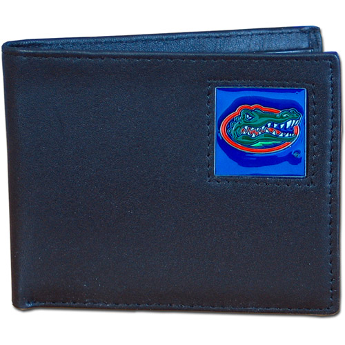 NCAA - Siskiyou - Bi-Fold Leather Wallet - University of Florida Gators