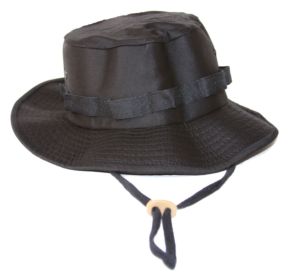Military Boonie Hat with Drawstring Boonie Hat -(Many Colors ... c070be250fa7