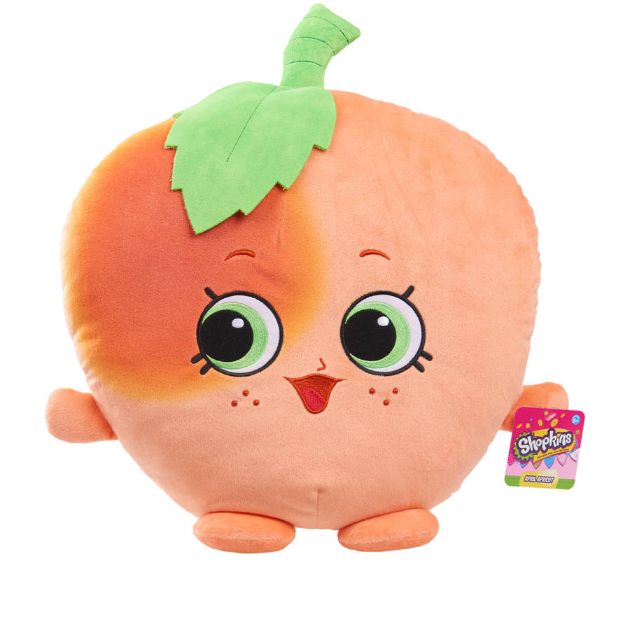 Shopkins Cuddle Plush April Apricot