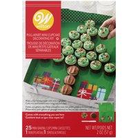 Deals on Wilton Christmas Tree Pull-Apart Mini Cupcake Decorating Kit 2 oz