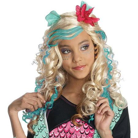 Monster High Lagoona Blue Child Wig  Walmartcom