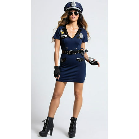 Officer Pat U. Down Costume - Pat Benatar Costumes
