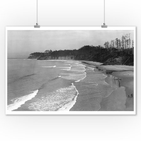 Bassendorf Beach off Roosevelt Highway California Photograph (9x12 Art Print, Wall Decor Travel Poster) ()