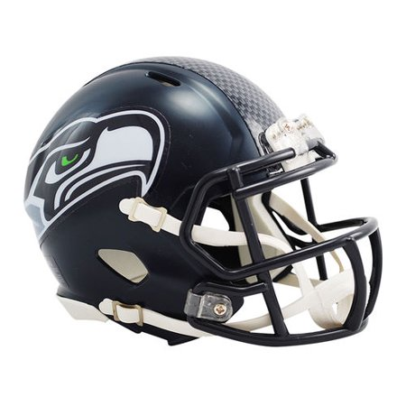 Riddell Revolution Helmets - Riddell Seattle Seahawks Revolution Speed Mini Football Helmet