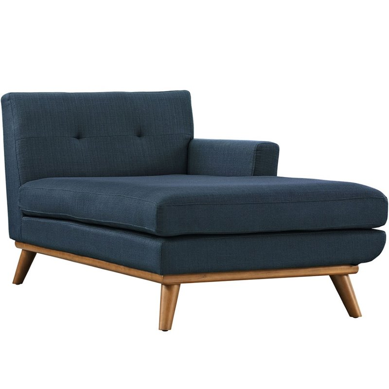 Hawthorne Collection Right Arm Chaise Lounge in Azure
