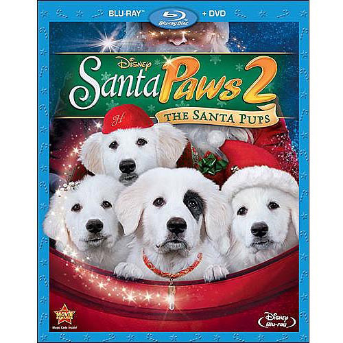 Santa Paws 2: The Santa Pups (Blu-ray + DVD) (Widescreen)