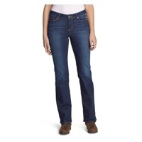 Eddie Bauer Women's StayShape Boot Cut Jeans - Curvy